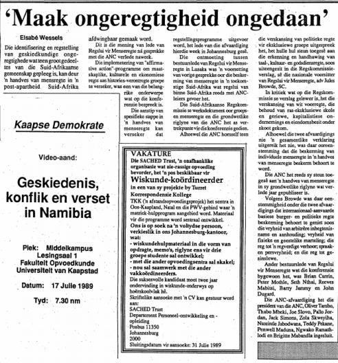 1989 vrye weekblad bee