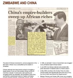Ivoor Zimbabwe China