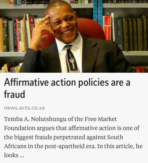 Image result for afrikanerbond free market foundation