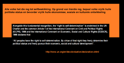 Selfbeskikking Selfdetermination