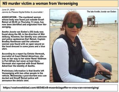 Image result for Annette Jooste killed