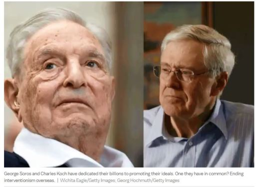 Soros en Koch