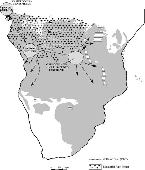 Bantu Migrations — Kwasi Konadu
