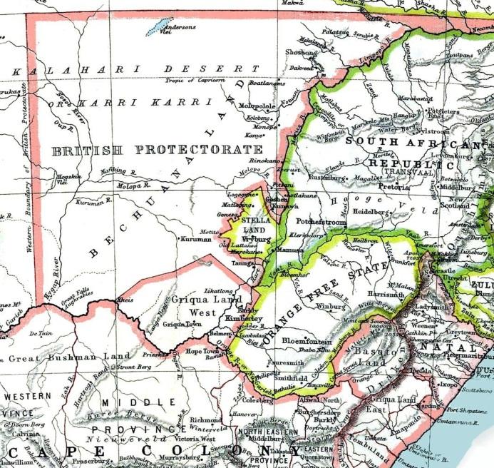 Big Blue 1840-1940: British Bechuanaland